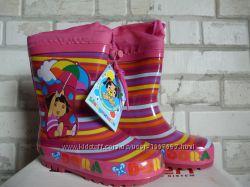 Резиновые сапоги для ребенка на утеплителе Шалунишка