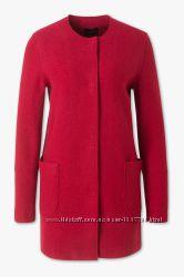 Новое эффектное шерстяное легкое пальто, кардиган р. 40-42eur от C&A Германи