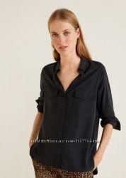 Рубашка блузка блуза mango
