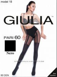 Колготки с имитацией чулок с подвязками Giulia Pari 60