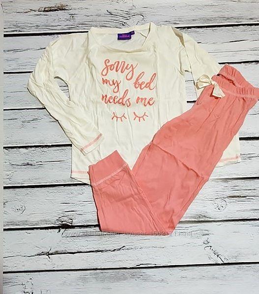 Пижама на девочку на манжетах