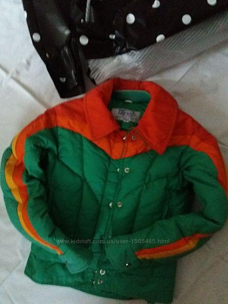 фирменная Канадская курточка на 8-9 лет
