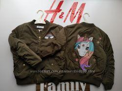 Куртка, бомбер h&m 92, 98, 104, 110, 116, 122, 128, 134, 140