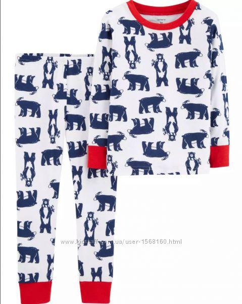 Пижам Carters для мальчиков 4т , года хлопок В наличии