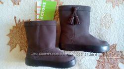 Демисезонные сапожки Crocs Kids LodgePoint Boot K, р-р С13