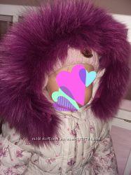 Зимний комбинезон на девочку Donilo