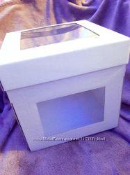 Упаковка коробки для пряников конфет кексов капкейков маффинов . есть опт