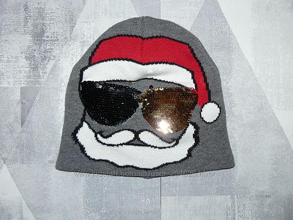 Зимняя шапка H&M с перевертышами.