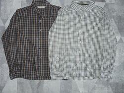 Рубашки для мальчика H&M Tom Tailor. р.152