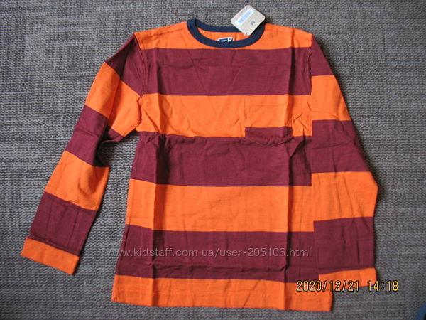 Продам футболку crazy 8 с длинным рукавом, бардо  оранж    125