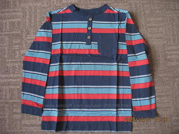 Продам футболку crazy 8 с длинным рукавом, синий         126
