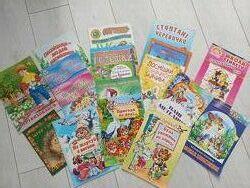 Дитячі книги та казки. Колекція казок про улюблене.
