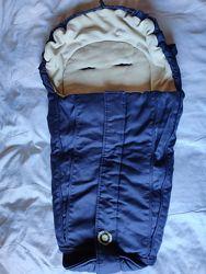 Теплый, зимний конверт, спальный мешок Hocо Austria
