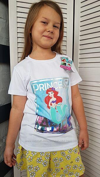 Спортивная футболка Disney с принтом и ярким принтом великолепной принцессы