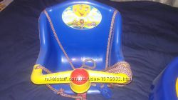 Качеля подвесная в хорошем состоянии 066 7454387 Синяя.