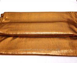 Ткань стрейч трикотин бронзовый с золотым отливом на платье костюм блузку