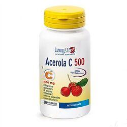 Лонг Лайф Acerola C укрепление иммунитета капсулы по 500 мг 30 диетпитание