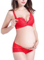 Набор белья для беременных и для кормления Пламенная страсть  0001