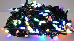 Новорічна гірлянда Конус-рис LED на 200 лампочок. Новогодняя гирлянда