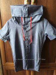 b897d6002ee стильная джинсовая рубашка-хомут.