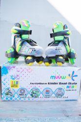Продам ролики фирмы Muuwmi verstellbarer Quad-Skate NEON mit Leuchtrol