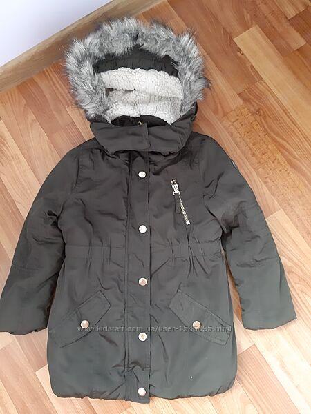 Удлиненная утепленная куртка парка Esprit