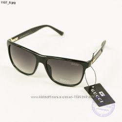 Солнцезащитны очки унисекс Gucci реплика - Черные, имиджевые - 11071