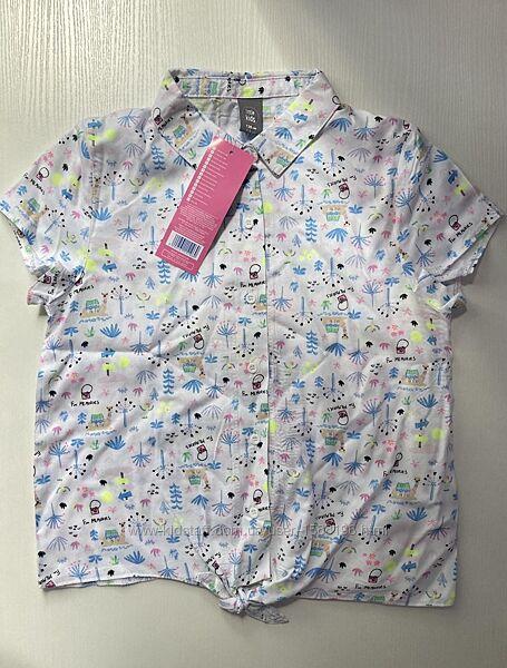 Сорочка дівчача літня