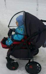 Козырек на коляску, капюшон для коляски, дождевик, кап
