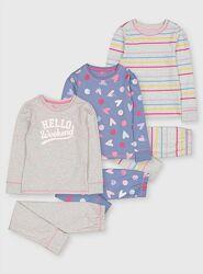 Новые разные Dunnes пижама Carters набор George Matalan на девочку 3-5 лет