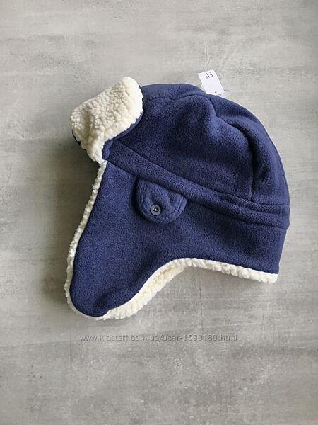 Новые разные тёплые шапка Regatta на флисе ушанка GAP на мальчика 4-10 лет