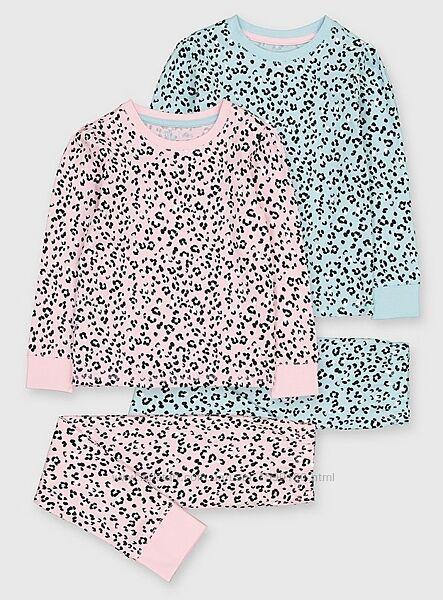 Новая разные Matalan пижама George набор TU на девочку 5-14 лет