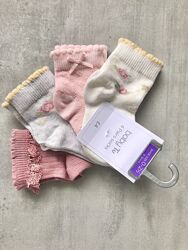 Новые разные George набор Old Navy носки TU шкарпетки Matalan девочке 0м-3г
