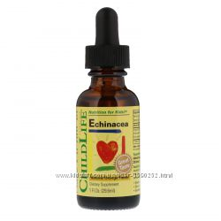ChildLife, Essentials, эхинацея, с натуральным вкусом апельсина, 29. 6мл