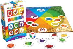 Веселка Логическая  Игра - Изучение Цвета для малышей . Картонные карточки