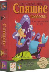 Настольная Игра Спящие Королевы картонная коробка
