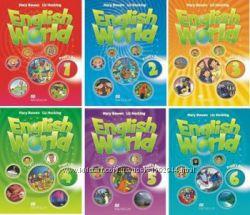 Комплект English World 1, 2, 3, 4 Pupil&acutes BookWork Book учебниктетрадь