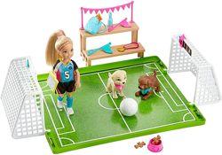 Набір Barbie Футбольне змагання Челсі від Маттел, оригінал США