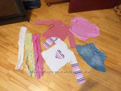 Пакет одежды для девочки на рост 98-104