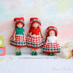 Рождественская одежда для Челси сестрички Барби