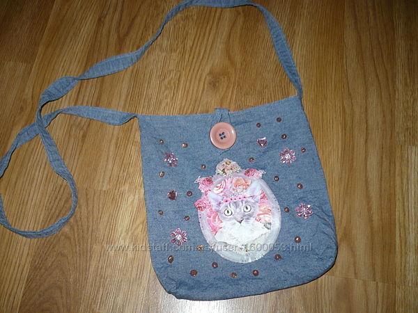 Сумочка Сумка детская Текстиль под джинс