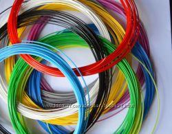 Набор PLA пластика 10 цветов по 10м для 3Д ручек ПЛА пластик, нить