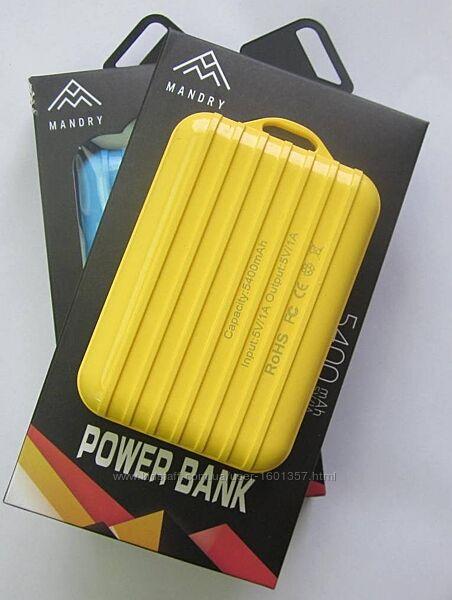 Безкоштовна доставка PowerBank 5400 mAh 5v/1a Повер банк для смартфона