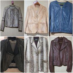 Куртка кожа питон