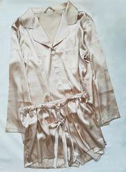 Пижама, шорты и костюм. Шелк