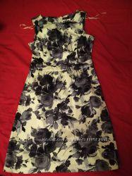Стильне плаття в принт F&F платье сукня сарафан р. 10
