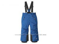 Зимний лыжный термо-полукомбинезон, штаны унисекс Lupilu, Германия, р. 86-92