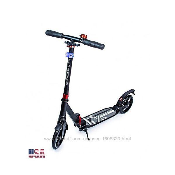 Самокат Scale Sports Elite Plus ss-07 USA Черный ножной тормоз