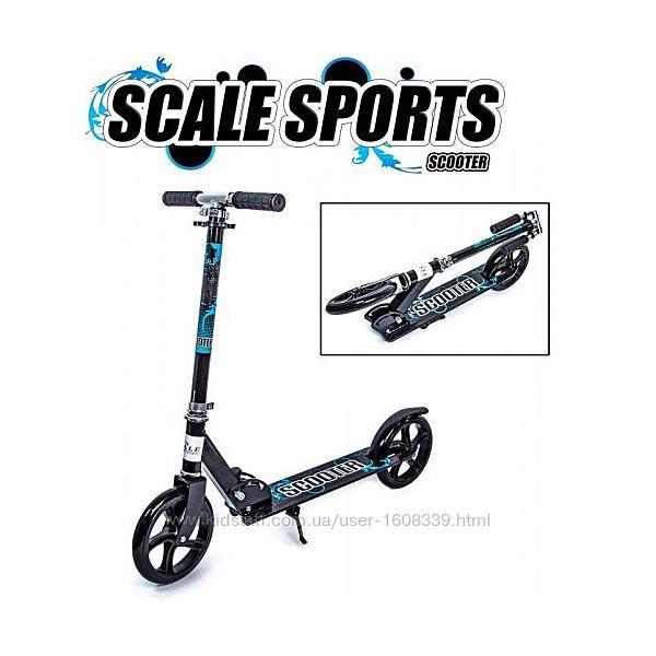 Самокат Scale Sports Scooter City 460 Черный