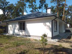 Новый дом 145м, 1 эт. 3 ком. 6 сот. лесная Буча
